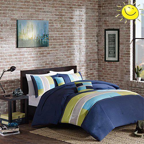Best 10+ Navy Blue Comforter Ideas On Pinterest