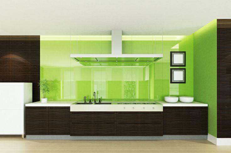 Modern Style Wall Mounted Hood in Demo Kitchen. Visit us today, www.rangehoodshq.com !!