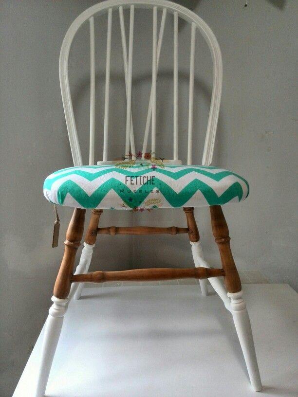 17 ideas sobre sillas windsor en pinterest sillas de for Reciclado de sillones