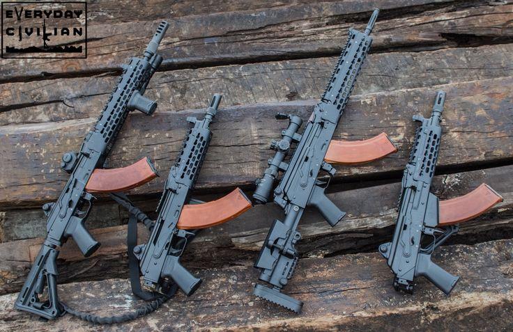 Krebs custom family of 7.62x39 AK's. I love... - Videos & Reviews: Firearms, Knives, & Multi-Tools