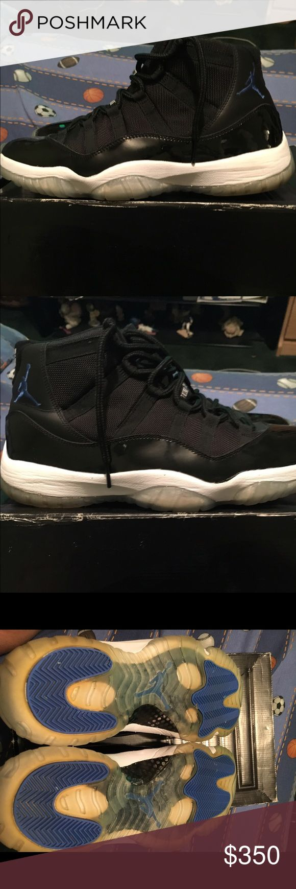 Air Jordan Space Jam 11 2009 100% Authentic  Includes Box and Receipt 8/10 condition  Only problem is yellowing soles 350 OBO Will trade for Ps4 with games Jordan Shoes Sneakers