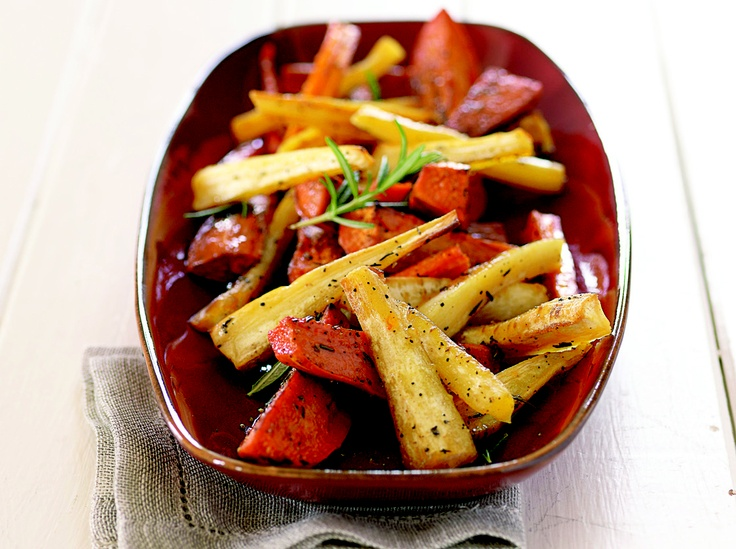 Maple-Roasted Root Vegetables With Sherry Vinegar Recipes — Dishmaps