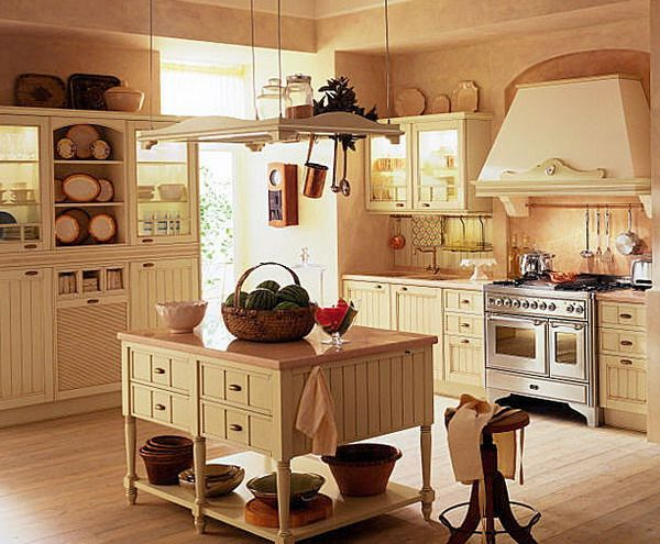 Image detail for -... – Creative Decor for Country Kitchens – Interior Design Ideas