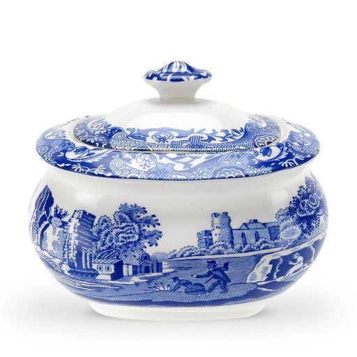 Sockerskål, Blue Italian - Köksförvaring- Köp online på åhlens.se!