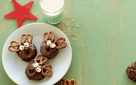 Get in the holiday spirit with these tasty Reindeer Bikkies. Packed with the goodness of Weet-Bix and rolled oats, they're a perfect fun and festive addition for your next party.