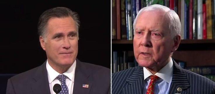 Mitt Romney responds to Orrin Hatch retirement announcement