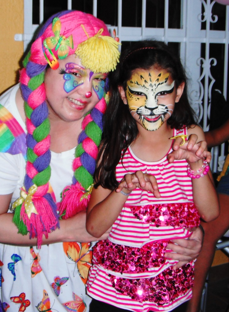 Face painting clown birthday party orlando fl www for Face painting clowns for birthday parties