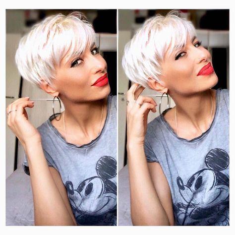 """""""Mi piace"""": 753, commenti: 7 – Kurze Haare (Kurzhaarfrisuren Damen) su Instagram: """"Fannie Wilkens Singer …… #kurzehaare #kurzhaarfrisuren #kurze"""