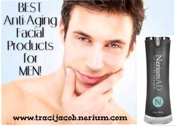 Men love looking younger.... Start using Nerium.. and you can do the same! 30 day money back guarantee! www.DreamIt.nerium.com