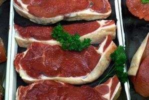 Steaks are commonly grilled, but an electric skillet will also work.