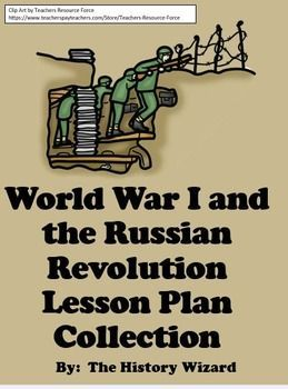 The following 18 Individual webquests and worksheets are included in the History Wizards World War I and Russian Revolution Collection:Click on each link to learn about the individual World War I lesson plan.World War I WebquestsWorld War I and the United States WebquestWorld War I Interactive Timeline WebquestWorld War I Propaganda Posters WebquestWorld War I Video WebquestWorld War I Workshee...