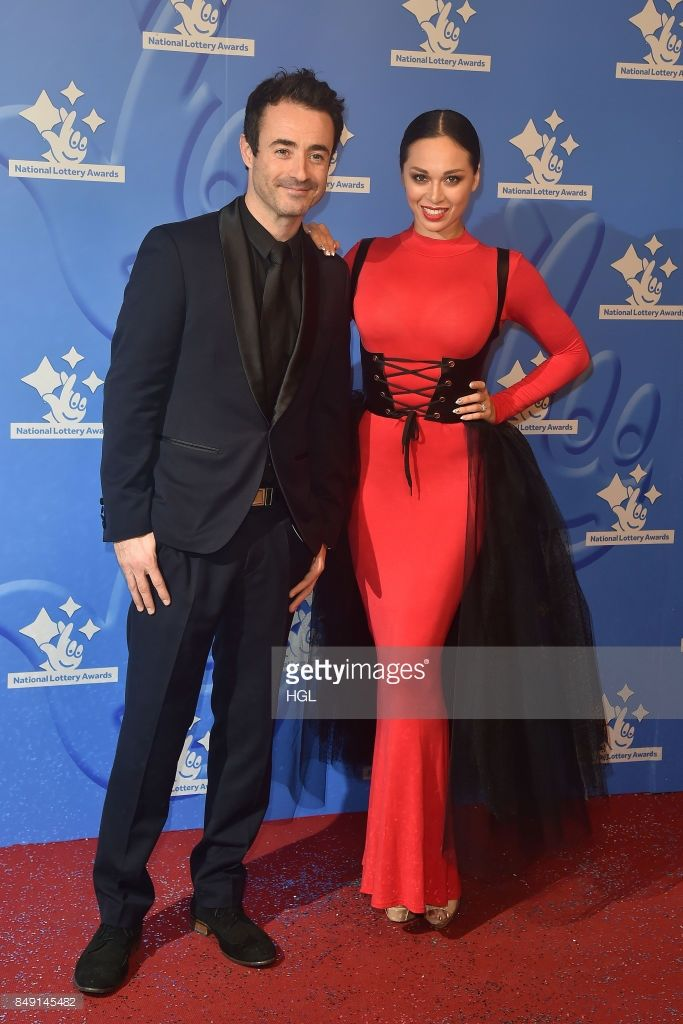 Joe McFadden and Katya Jones arriving at The National Lottery Awards 2017 at The London Studios on September 18, 2017 in London, England.