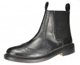 Bench Grade Ludlow Black Slip On  Chelsea, Ankle Boots Pull Welted Dealer Mens - £69.99