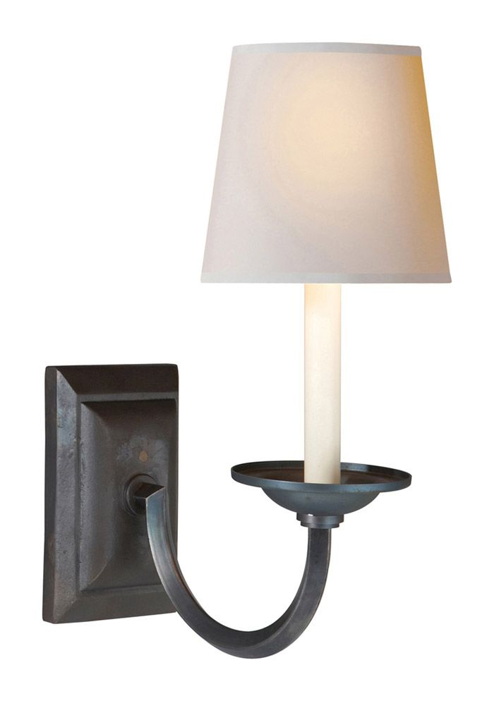 This 1 Light Decorative Wall Light From The E.F. Chapman Flemish Collection  By Visual Comfort Will
