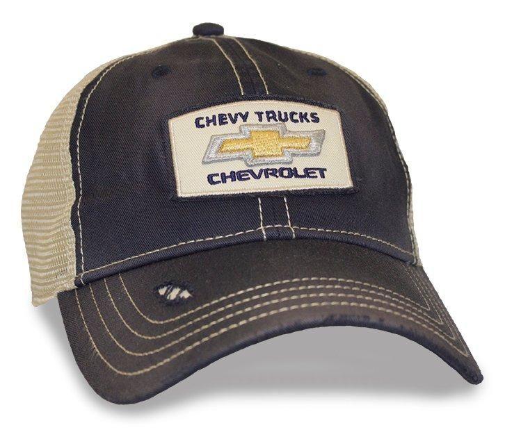 4c2c4767cda70 Chevy Trucks Patch Mesh Cap - ChevyMall