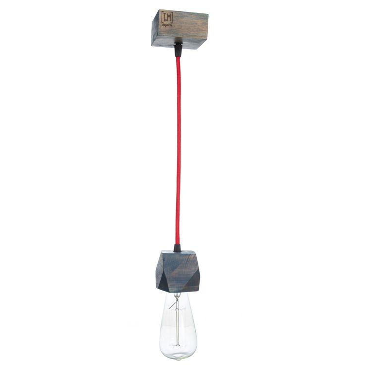 """Модель: Н1 Цена: 750 грн """"Подвесной светильник H1 привлекает к себе внимание своими полигональными  гранями и лаконичностью силуэта.Сочетание кабеля в текстильной обмотке и натурального дерева, делают его неотъемлемой частью в современном интерьере. Можно заказать несколько единиц на одной платформе, и с различной длинной кабеля. Отлично сочетается со всеми лампочками Эдисона."""
