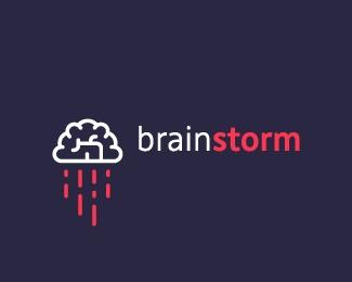 brain storm #logo #design