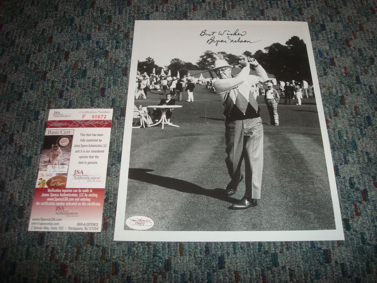 Item description  						FULLY AUTHENTICATED BY JSA WITH A FULL CERTIFICATE OF AUTHENTICITY.  					 							See full item description 						 HOF Byron Nelson PGA Golf d.2006 Autograph Signed Best Wishes 8×10 Photo JSA TD  Price : 112.49  Buy it now price :  Current bids :  Ends on : 10... - #Golf https://lastreviews.net/sports-fitness/golf/hof-byron-nelson-pga-golf-d-2006-autograph-signed-best-wishes-8x10-photo-jsa-td/
