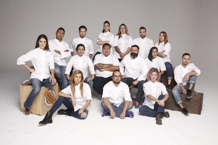 ¡Conoce a los participantes de Top Chef México 2017!
