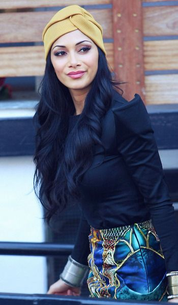 Turban Style , Nicole scherzinger