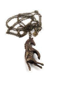 Horse Pendant - Rex Royale - Wellington and New Zealand designer fashion clothing jewellery art women's cuba st boutique