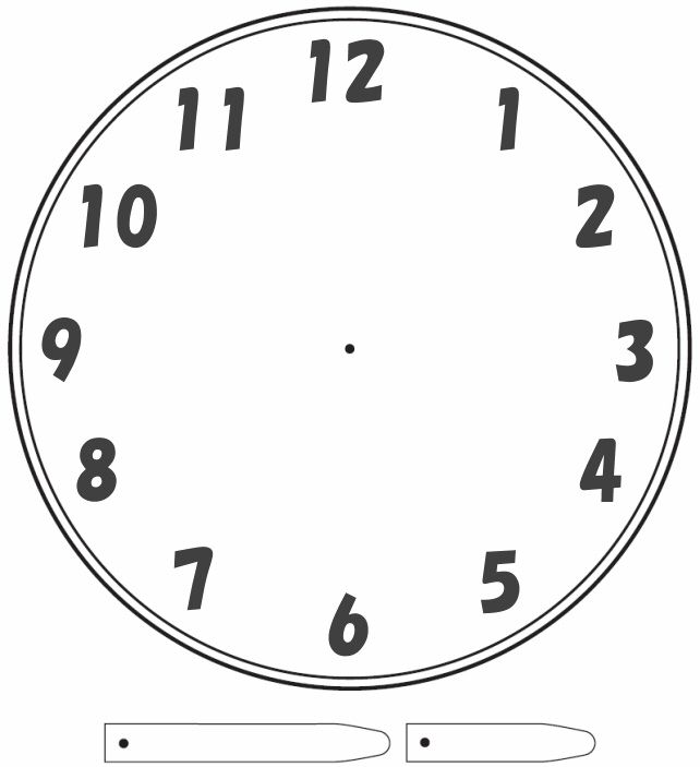 printable clock face with movable hands - Intoanysearch - clock templates
