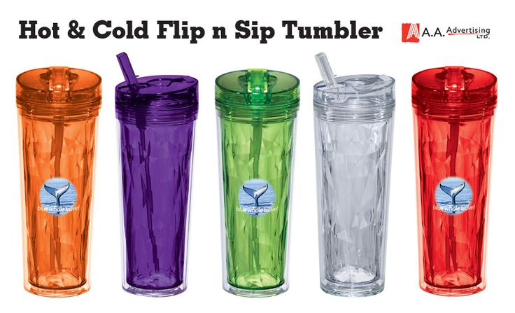 Some like it hot & some like it cold, with this patented two-in-one lid you can have both. BPA free.