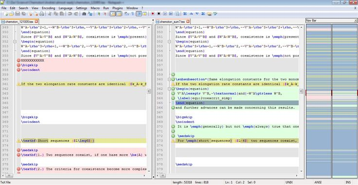 compare plugin for Notepad++