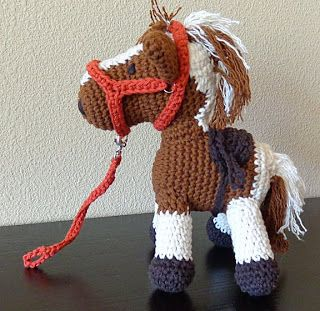 For your horse fans who like to crochet! Crafting in a Small Town: Cowboy the Magic Horse