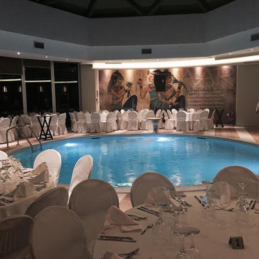 #Γάμος  στην εσωτερική θερμαινόμενη #πισίνα του ξενοδοχείου μας... Γιατί η ομορφότερη μέρα της ζωής σας, αξίζει μόνο το καλύτερο! http://www.aarhotel.gr/weddings #Wedding #Indoorpoll #Aarhotel #Boutiquehotel #Ioannina