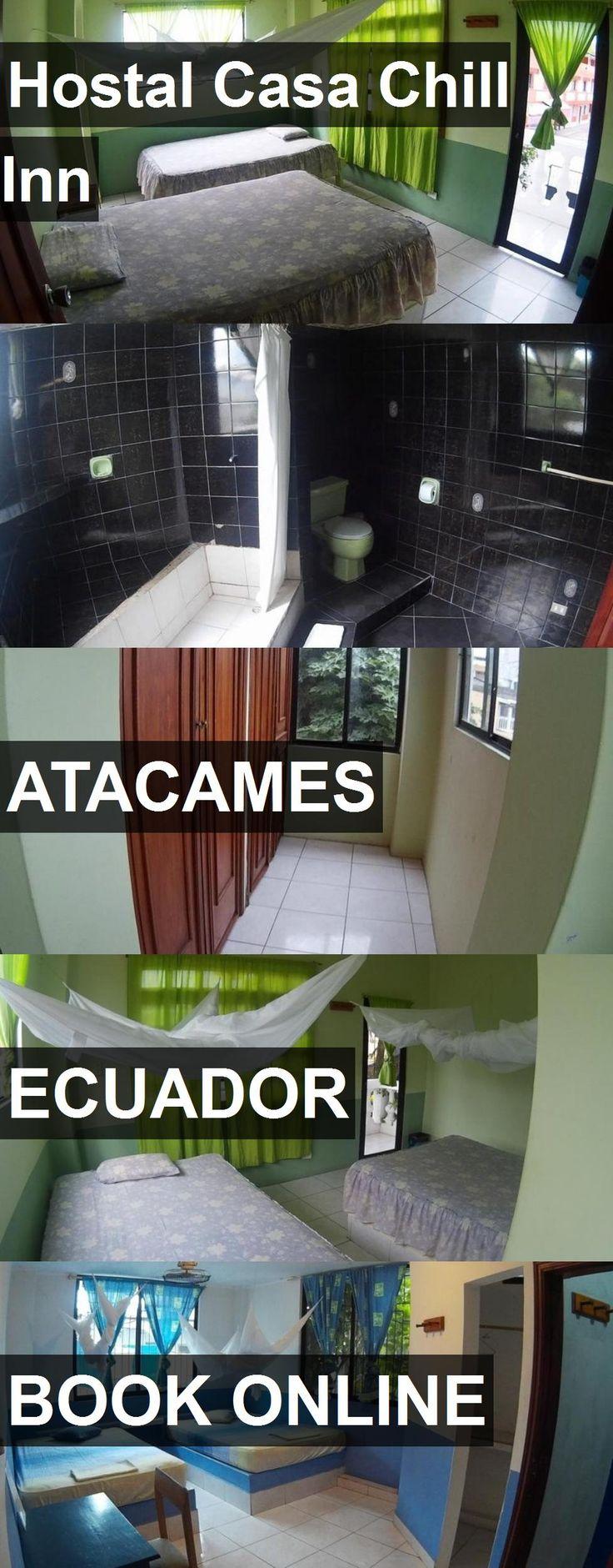 Hotel Hostal Casa Chill Inn in Atacames, Ecuador. For more information, photos, reviews and best prices please follow the link. #Ecuador #Atacames #HostalCasaChillInn #hotel #travel #vacation