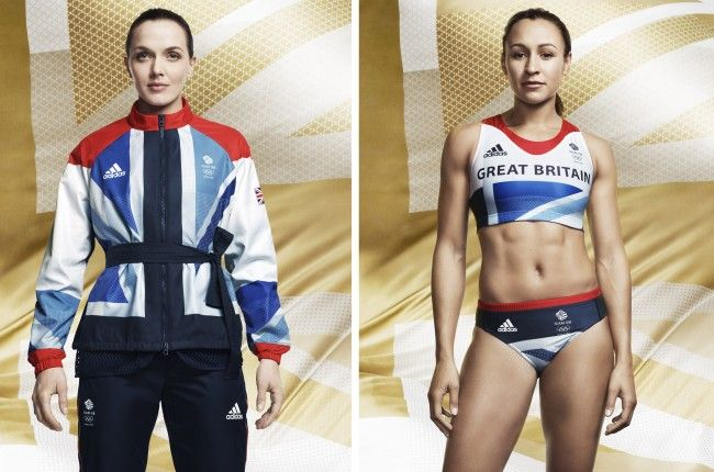 1.Team GB Olympic kit designed by Stella McCartney for Adidas   2. Jessica Ennis