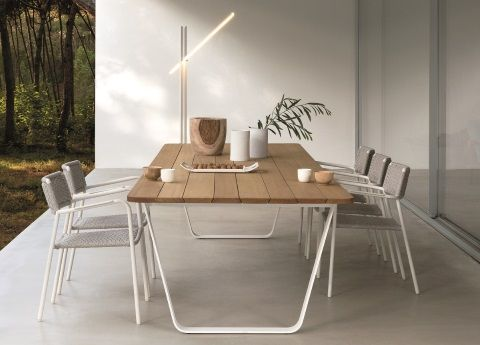 Manutti Air Wooden Garden Table
