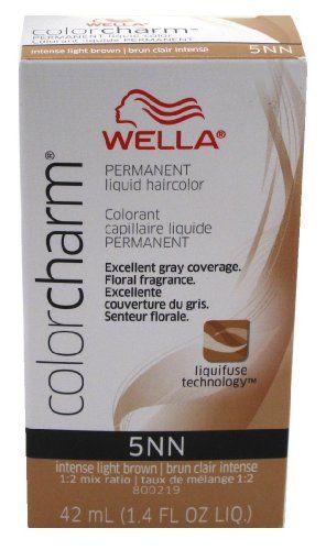 Wella Color Charm Liquid 5nn Intense Light Brown Beauty Pinterest Hair Coloring