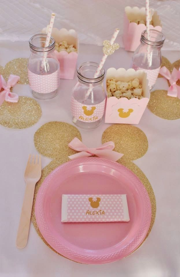 Piece of Cake: Pink & Gold Minnie Mouse ~ Real Party Feature!