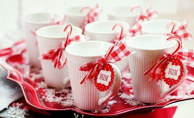 hot cocoa bar mugs