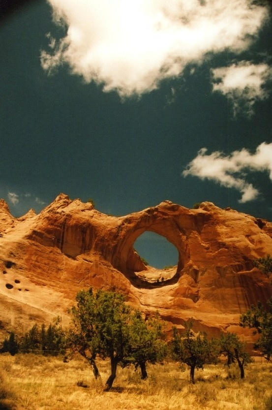 Window Rock (Arizona), Navajo Nation, Border of Arizona and New Mexico