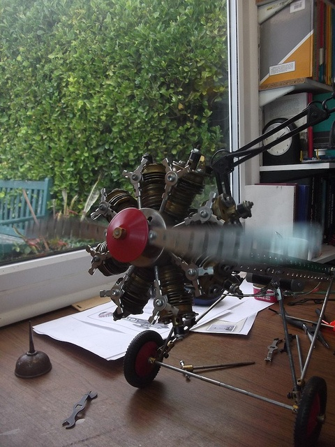 Bristol bulldog engine run by Les Chatfeild., via Flickr