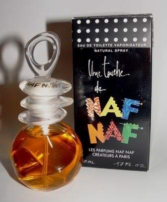 Profumo Naf Naf. Forse uno dei tappi più strani che abbiano mai popolato il mio scaffale del beauty ^^;