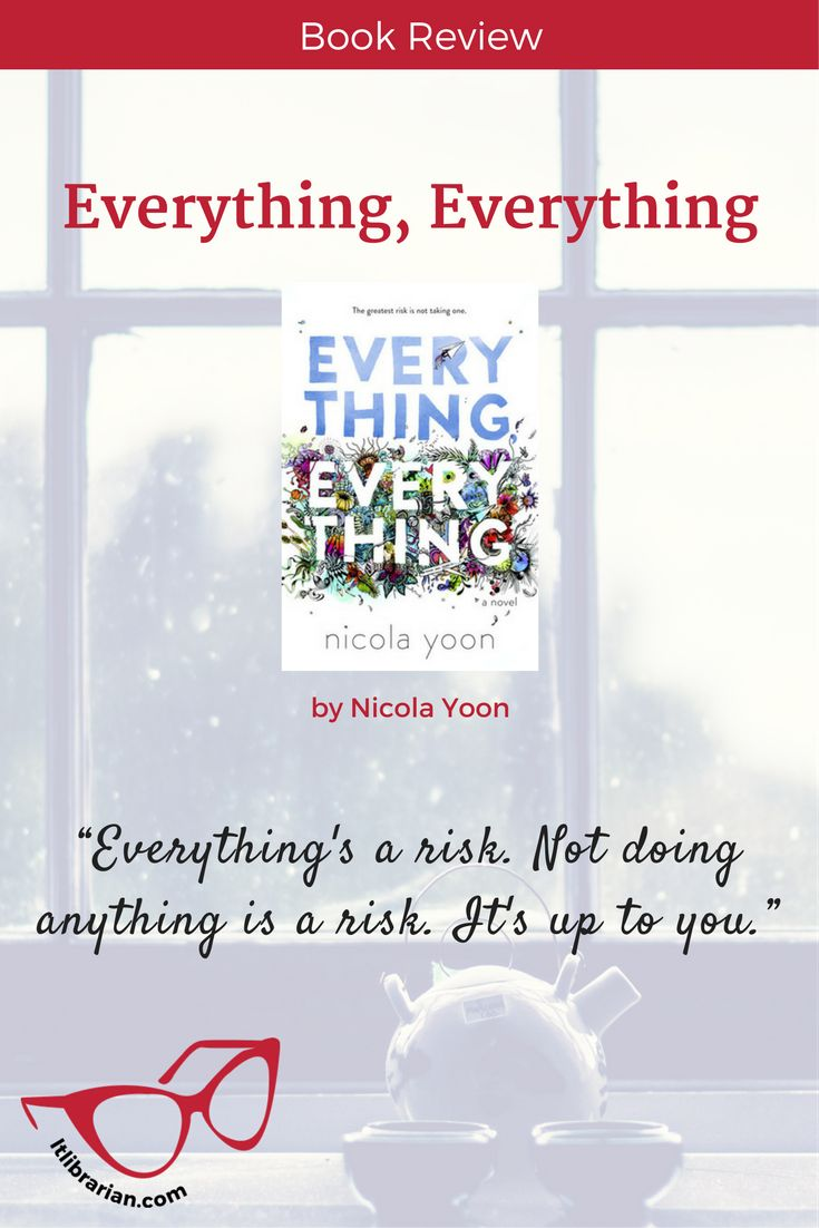 The unique premise drew me in, but ultimately, I was disappointed by an ending that didn't resolve the core issues. Everything, Everything Book Review | Lunch-Time Librarian YA Contemporary