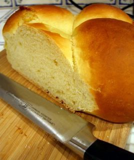 HAWAIIAN SWEET BREAD:  Pinner Finally found authentic recipe that matches one mother has been making for years (made with potatoes).  She was first served this bread on the Big Island as a sandwich with spicy Portuguese sausage.  She begged for and received the recipe. Makes 2 loaves.  -- There is a link on this site that you click on to get to the original recipe (from Hawaiian Electric Company-- cut/past from comments 2nd recipe below).