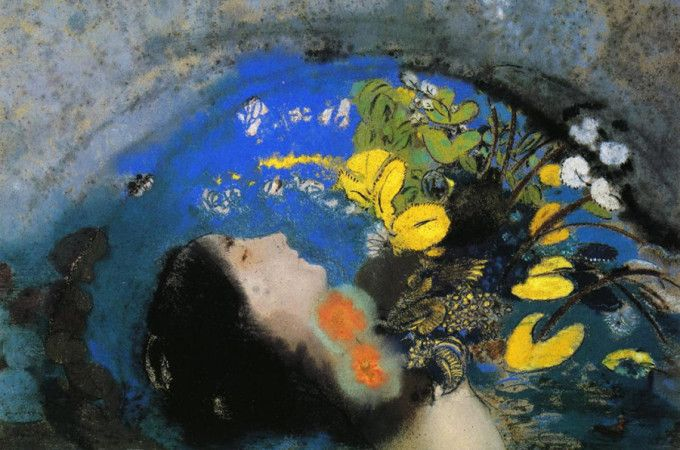 Ophelia de Odilon Redon - MISTÉRICA