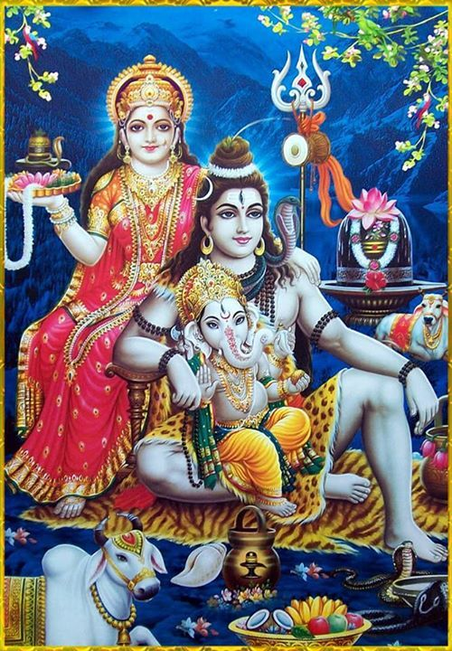 Shiva Parvati Lord Shiva Family Lord Vishnu Wallpapers