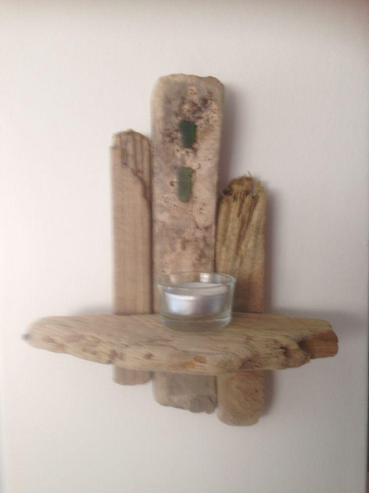 Handmade driftwood sconce £7.50