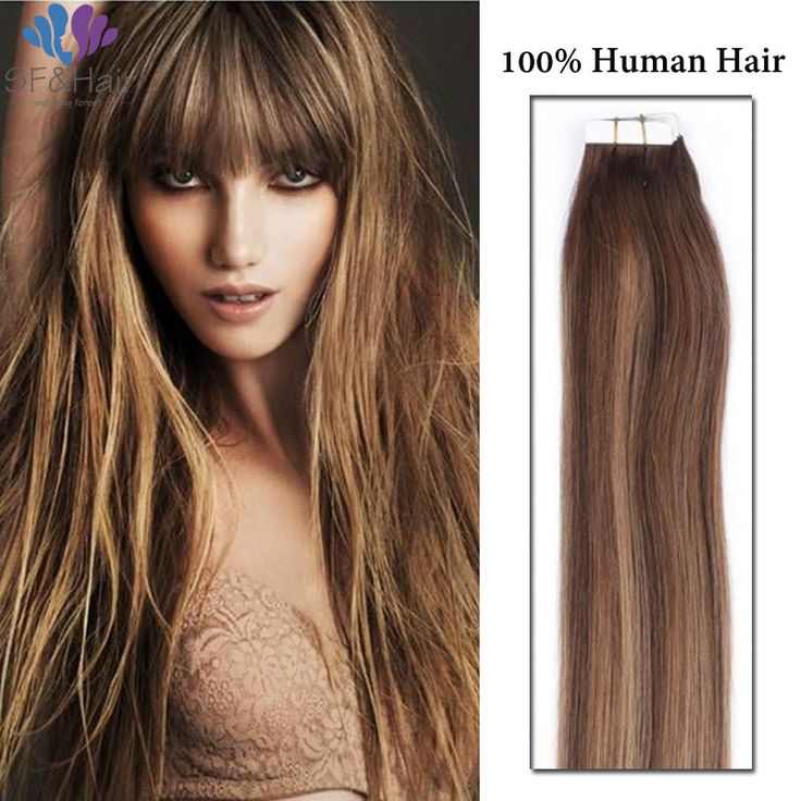 Tape Design On Sale At Reasonable Prices Buy Piano Color Hair US In Human Extensions Remy Straight Brazilian Virgin
