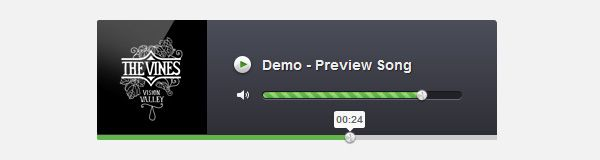 How to Create an Audio Player in jQuery HTML5 & CSS3