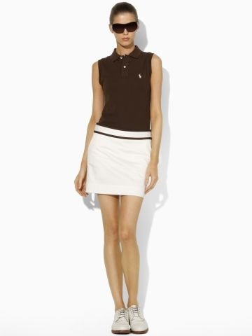 Field Stretch Twill Skort - Ralph Lauren Golf Skirts - RalphLauren.com