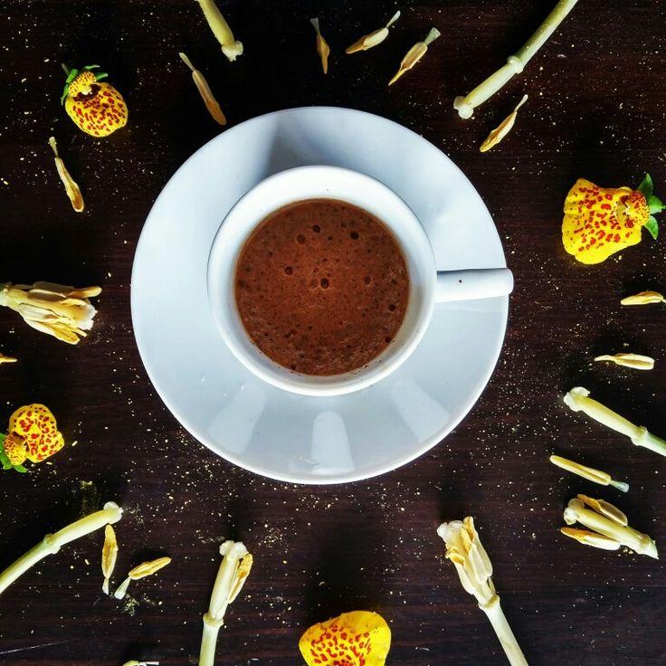 Coffee and yellow rain #mokalovers #espresso #cutethings