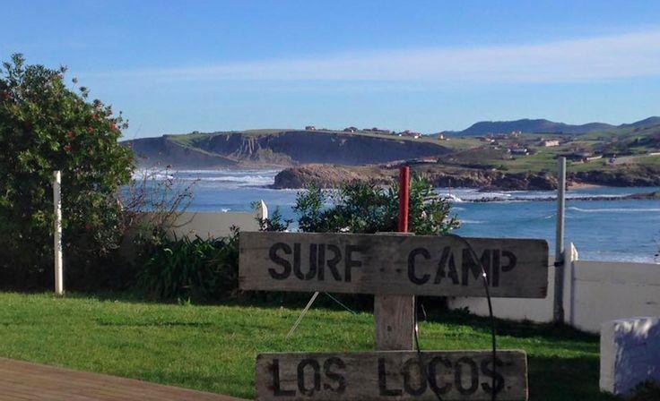 Escuela de #Surf Los Locos #Cantabria