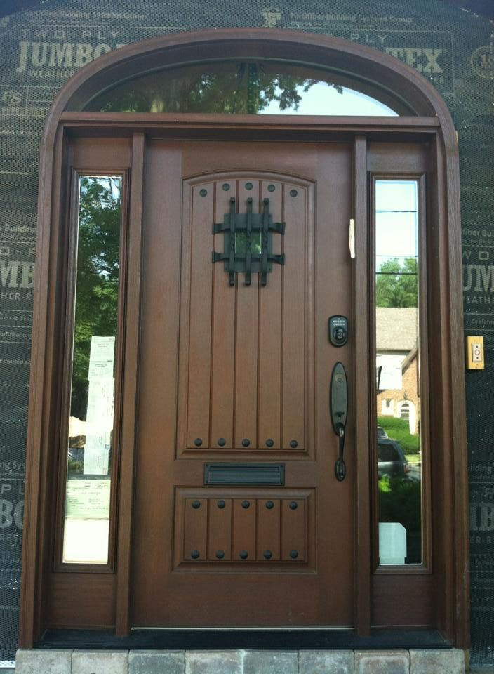 1000 ideas about fiberglass entry doors on pinterest for Exterior entry doors